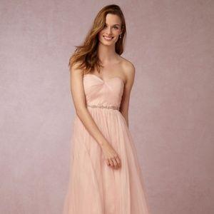 Jenny Yoo Annabelle Convertible Dress Blush 10